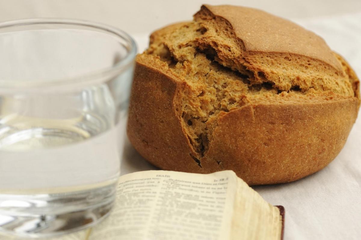 Careme pain et eau
