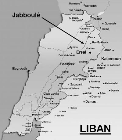 Carte liban jabboule400