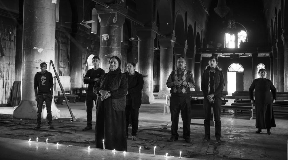 Eglise devastee irak nb