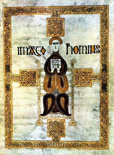 Evangeliarium echternach imago hominis engeland ca 680 a