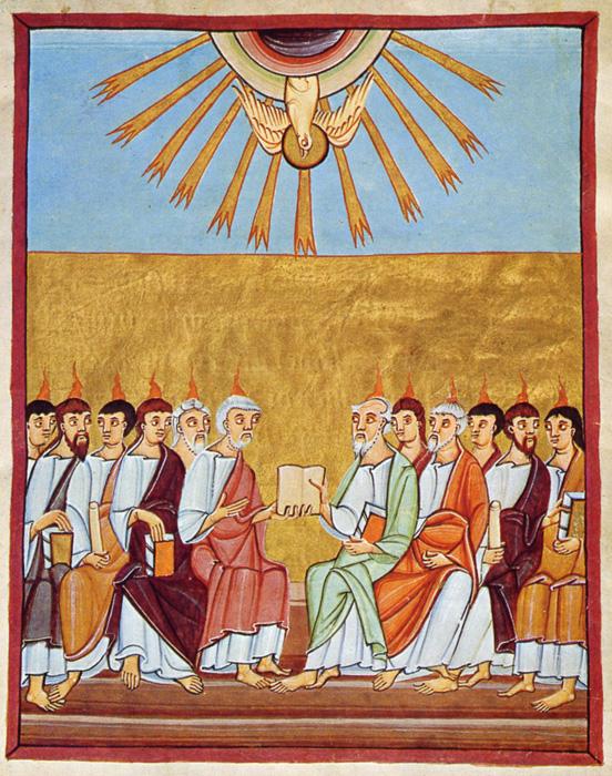 Pentecote manuscrit 11 s