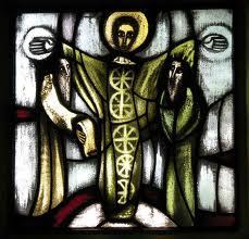 Vitrail taize transfiguration